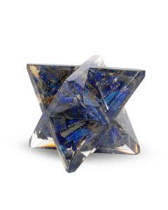 Orgone Big Size Lapis Lazuli Merkaba Star