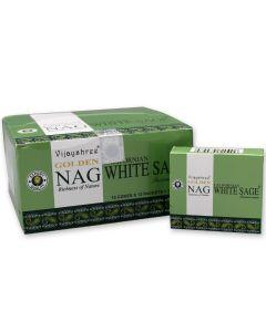 Golden Nag Salvia Blanca Dhoop Conos