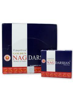Golden Nag Darshan Dhoop Conos