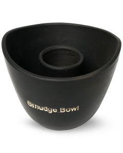 Smudge Bowl Large Black
