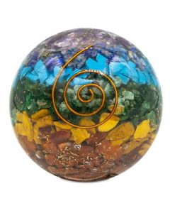 Orgone Chakra Spheres