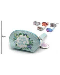 Wallet Oval Light Blue 15x9x8cm