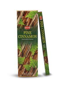 Hem Pine Cinnamon Square (25 x 8 Stokjes)