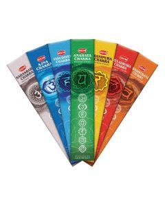 Hem 7 Chakra Incense Sticks Pouch
