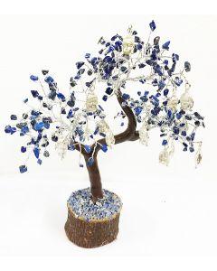 Edelsteenboom Lapis Lazuli met Boeddha Hoofd 160 Stenen - Spiritual