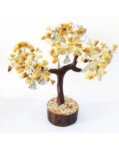 Edelsteenboom met Lachende Boeddha 300 Stenen - Reflecting