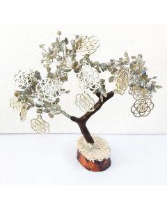 Edelsteenboom Labradoriet 300 Stenen - Balancing and Protecting