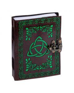 Leren Dagboek Mystic Book of Shadow met schuifslot
