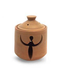 Clay Pot Moon Goddess