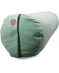 Yoga Bolster Dyed Cotton Twill - Plain Mint Green