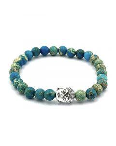 Natural Stone Beaded Bracelet Kings Turquoise