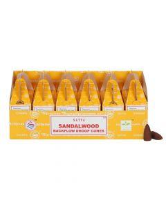 Satya Sandelhout Backflow Dhoop Kegels