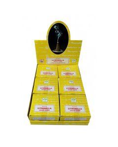 Satya Citronella Perfumed Dhoop Cone