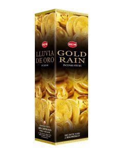 Hem Gold Rain Square (25 x 8 Stokjes)