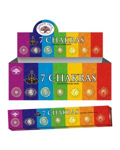 Green Tree 7 Chakra Natural Wierook 15 gram
