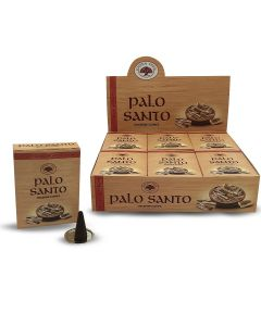 Green Tree Palo Santo Conos 10 piezas
