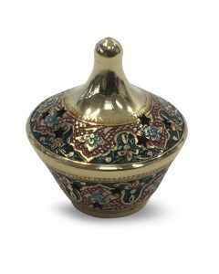 Chikankari Incense burner (9.5cm)
