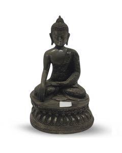 Budha 20cm silver antique