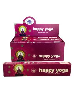 Green Tree Happy Yoga Natural Masala Wierook 15 gram
