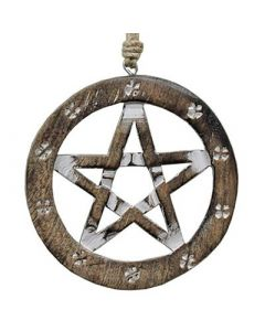 Wall Hanging 15 cm Pentagram