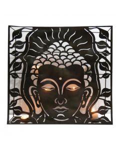 Metal Wall Décor Buddha Big 61x60cms dept 11cms //