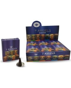 Green Tree 7 Angels Cones (10 pieces)