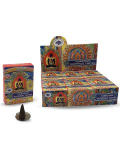 Green Tree Buddhist Tantra Cones (10 pieces)