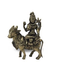 Shiva y Vaca 21cm