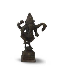 Ganesha de latón 10cm