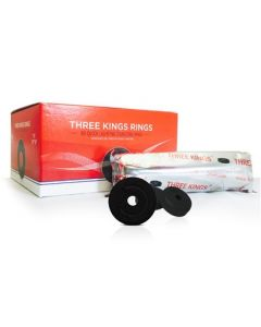 Three Kings Rings charcoal 40mm/80