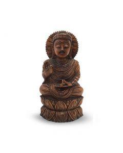 Boeddha Spl Hout 20Cm