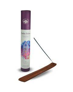 Green Tree Chakra Balance Incense with Incenseburner