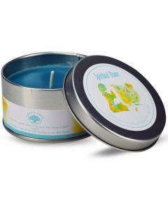 Green Tree Spiritual Home Travel Tin Candle 85 Grams