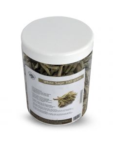 Green Tree Candle  White Sage Leaves  100 grams