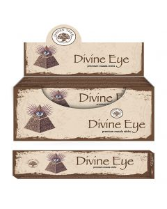 Green Tree Divine Eye Natural Masala Wierook 15 gram