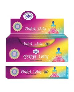 Green Tree Chakra Lotus Natural Masala Wierook 15 gram