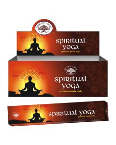 Green Tree Spiritual Yoga Natural Incense 15 grams