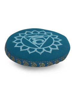 7 CHAKRA CUSHION 11 CM TURQUOISE THROAT