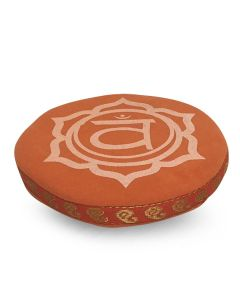 7 CHAKRA CUSHION 11 CM ORANGE SACRAL