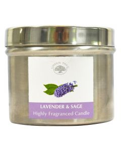 Green Tree Lavender & Sage Candle 150 Grams