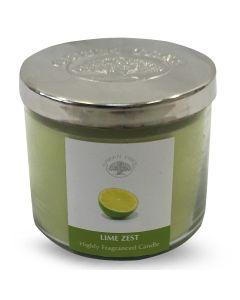 Green Tree Lime Zest Highly Fragranced Kaars 400 Gram