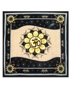 ALTAR CLOTH OM LOTUS 36*36
