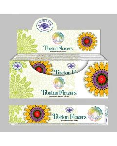Green Tree Tibetan Flowers Masala Wierook 15 gram
