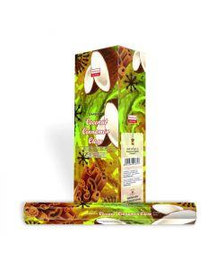 Darshan Coconut Cinnamon Clove Hexa