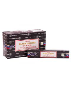 Satya Black Champa Incense 15 grams
