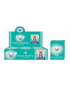 Green Tree Angel Healing Cones