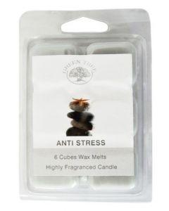 Green Tree Anti Stress Wax Melts 80 Gram (6 Stuks)