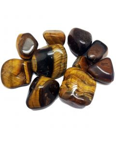 Tumbled stones-Tiger Eye Gold 100 grams