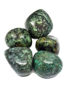 Tumbled stones-Africain Turquoise 100 grams