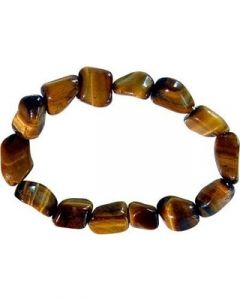 Bracelet Tumbled Stones Tiger Eye